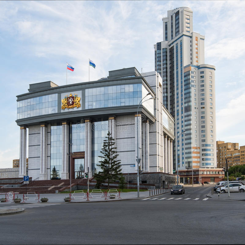 Yekaterinburg, Rusland - Juni 11, 2016: Yekaterinburg, Rusland - J royalty-vrije stock afbeelding