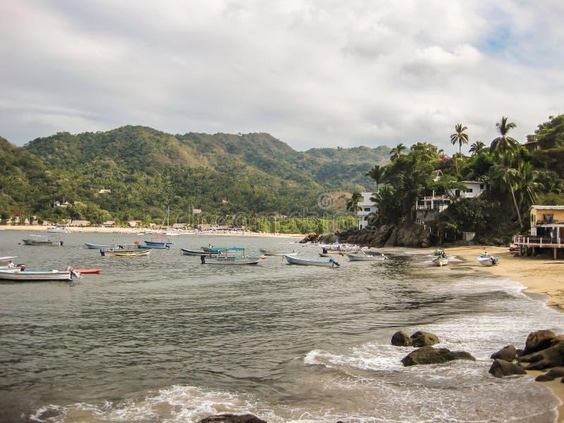 Yelapa Harbor royalty free stock images