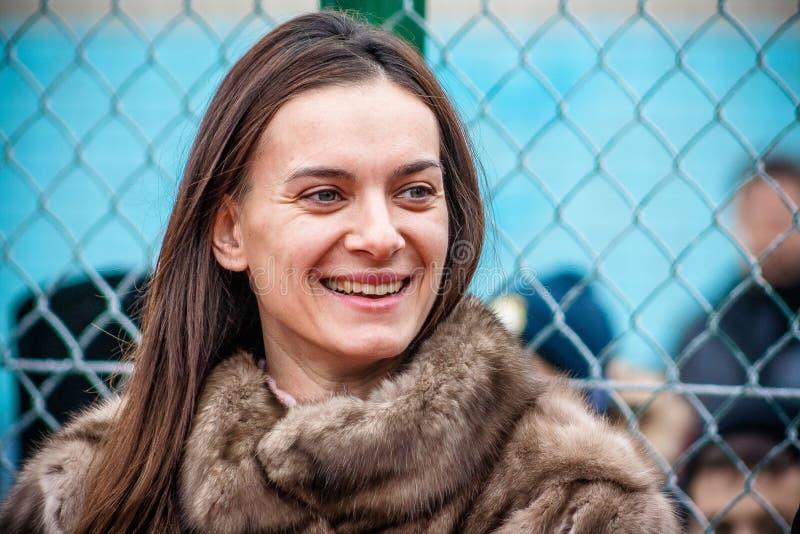 Yelena Isinbayeva stockbild