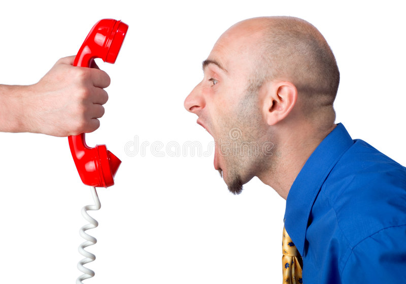 Download Yelling stock photo. Image of white, profile, male, holding - 2633406