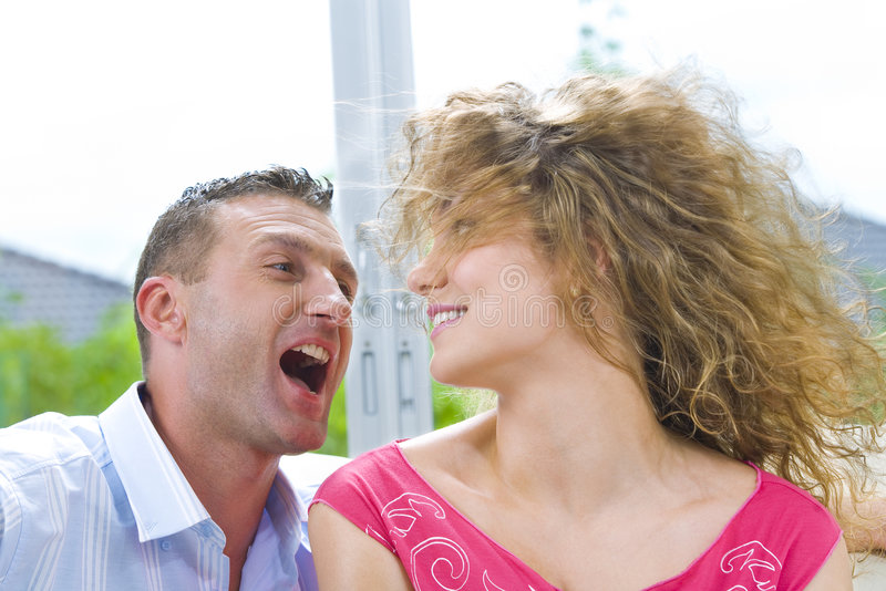 Download Yelling stock photo. Image of girl, romantic, relationship - 6963174