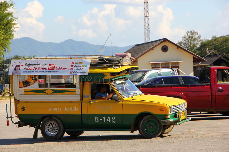 Download Yello And Green Taxi Editorial Image - Image: 28064470