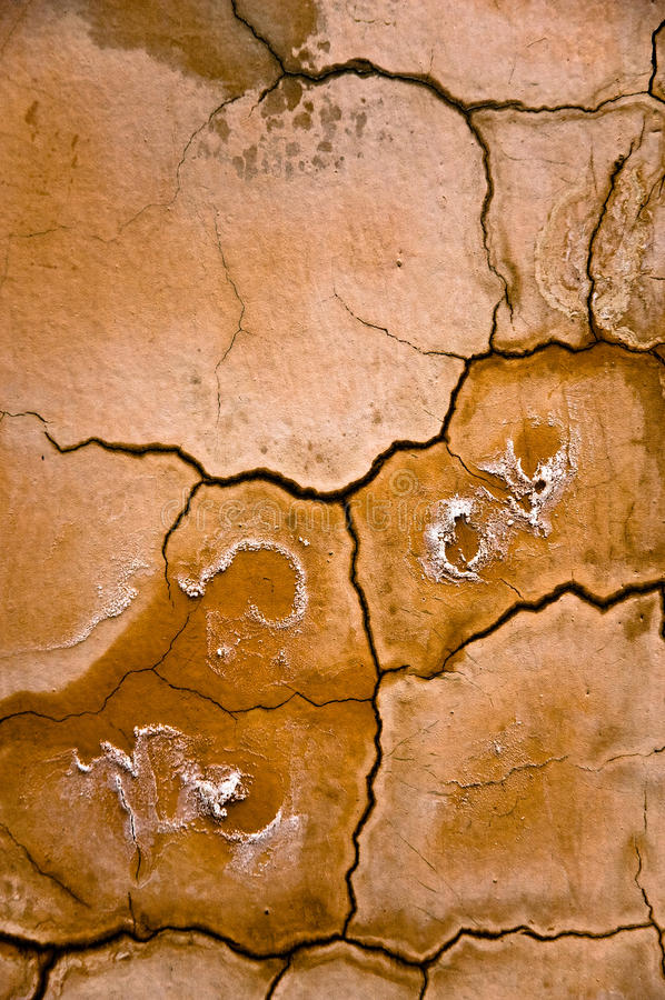YelloScorched Earth Abstract Background. Stock Photos