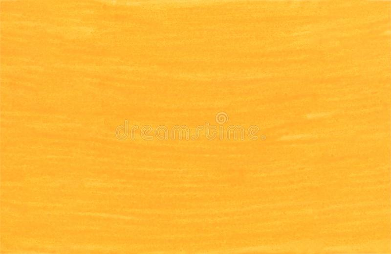 Yellow abstract aquarel watercolor background stock photography
