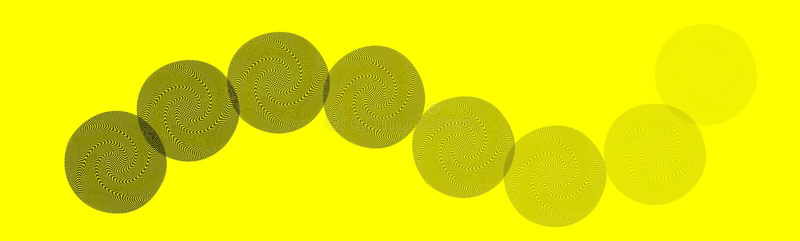 Yellow abstract background stock illustration