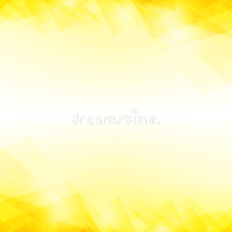 Yellow abstract background. stock image