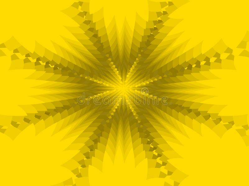 Yellow abstract background. royalty free stock photos