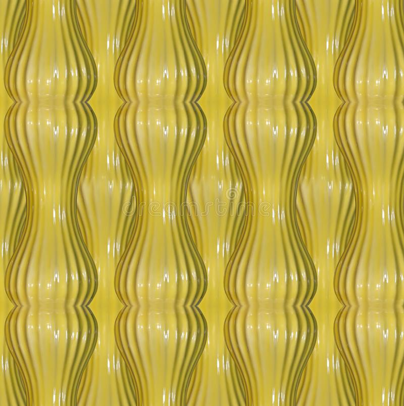 Yellow abstract pattern vector illustration
