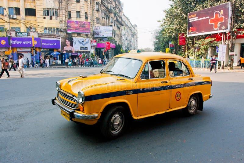 Download Yellow Ambassador Taxi Car In Kolkata Editorial Stock Photo - Image: 29587443