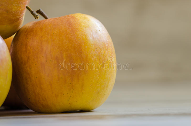 Yellow Apple Fruit On White Table Free Public Domain Cc0 Image