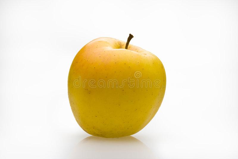 Download Yellow Apple With Graft Stock Photos - Image: 8400453
