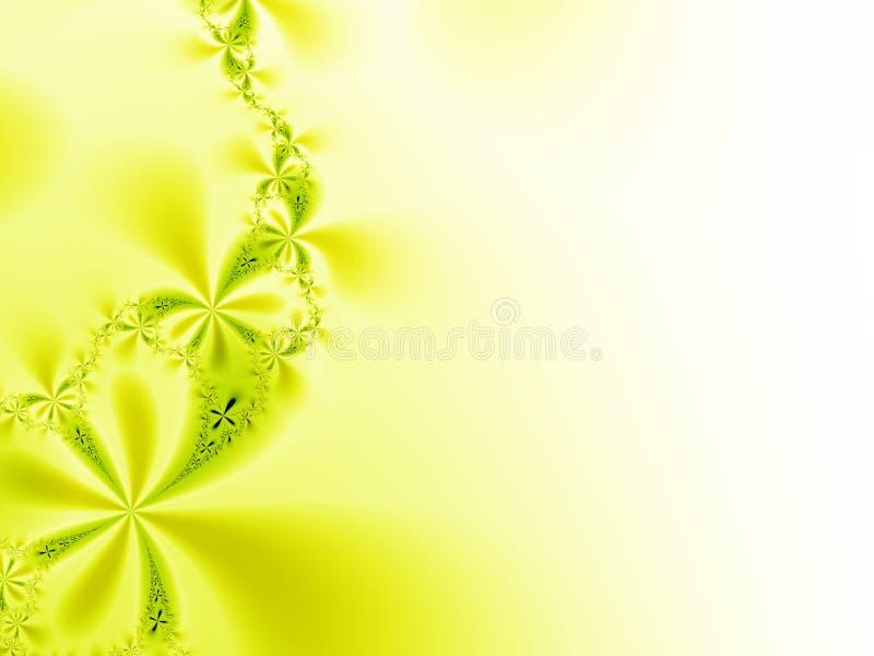 Yellow background royalty free illustration