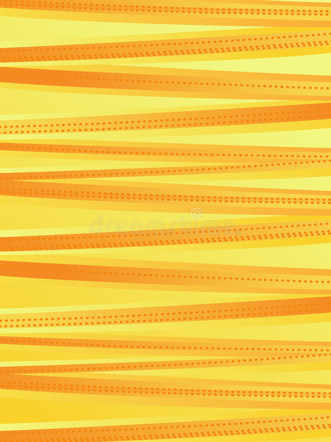 Yellow background. Bright yellow lines illustration background vector illustration