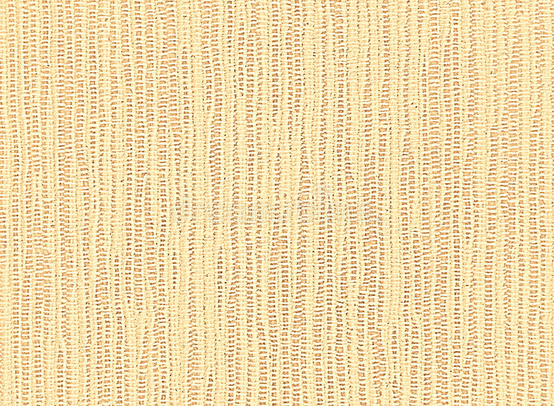 Yellow background of linen napkin coarse weave. Cotton cloth photographed in close-up. Rustic, retro style. Suitable as backdrop for your text and other design stock photography