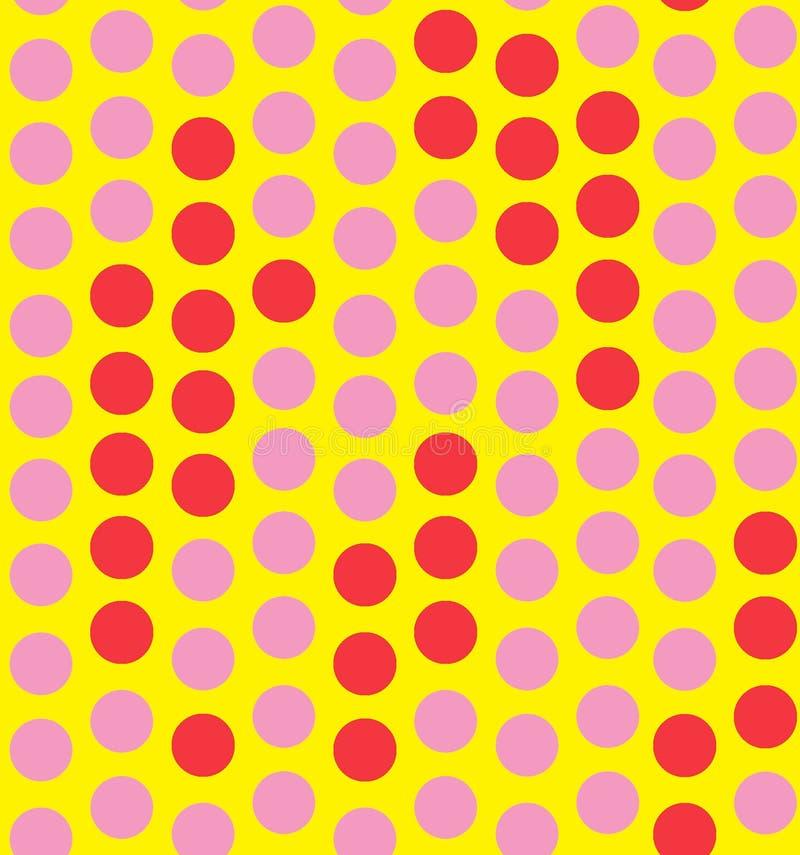 Vintage Polka Dot Background Stock Photo Image Of