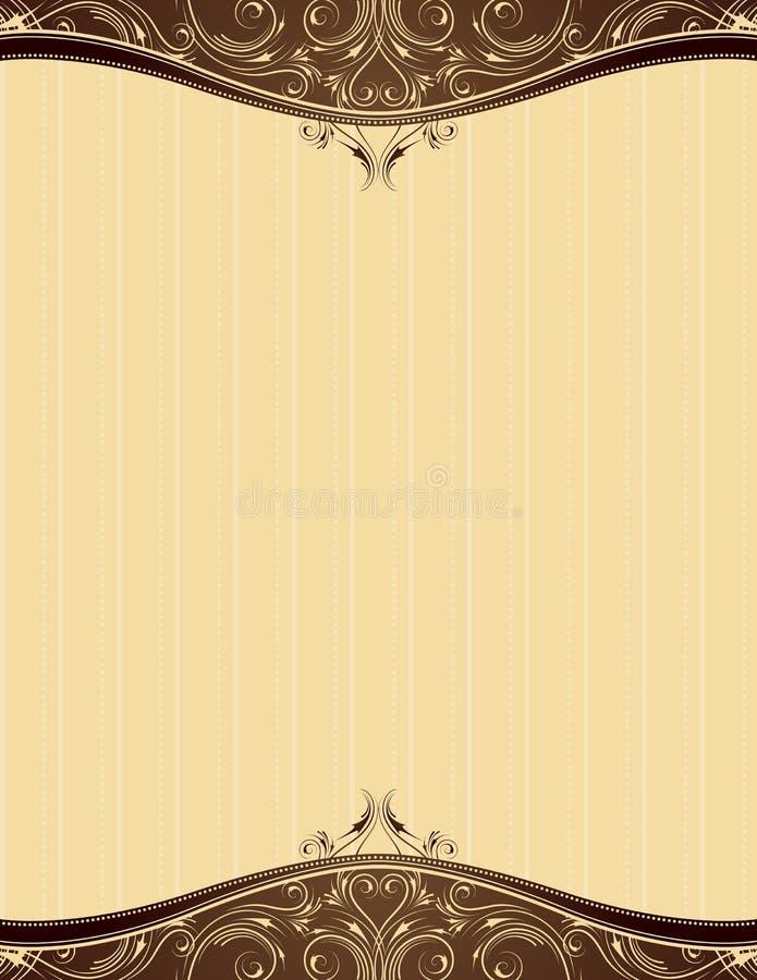yellow background, vector stock illustration