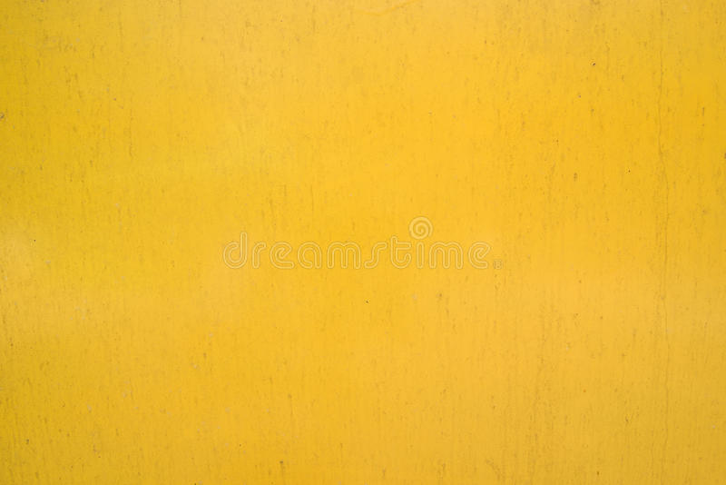 Yellow background wall texture royalty free stock images