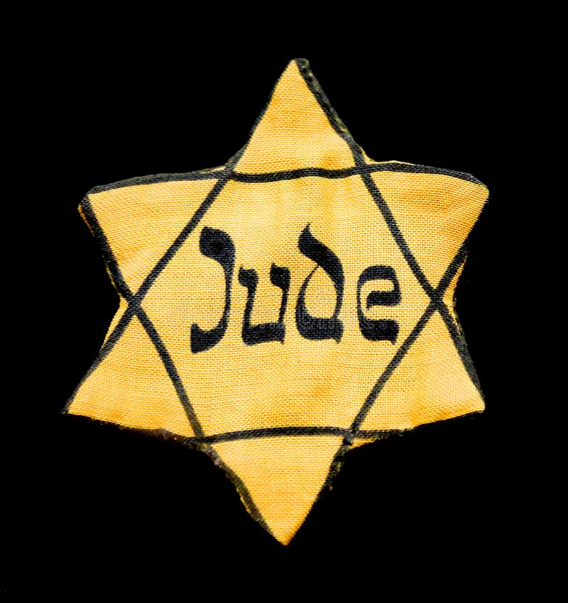 Free Yellow Badge Of Star Of David Is Is A Symbol Of Modern Jewish I Stock Photography - 137736742