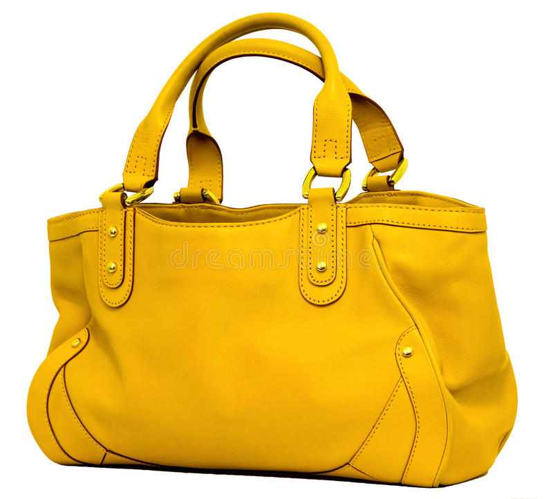 Yellow Bag royalty free stock image