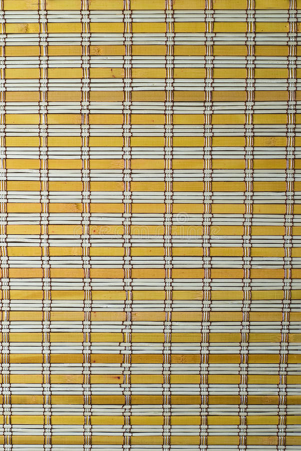 Download A  Yellow Bamboo Mat Texture. Stock Image - Image: 16728403