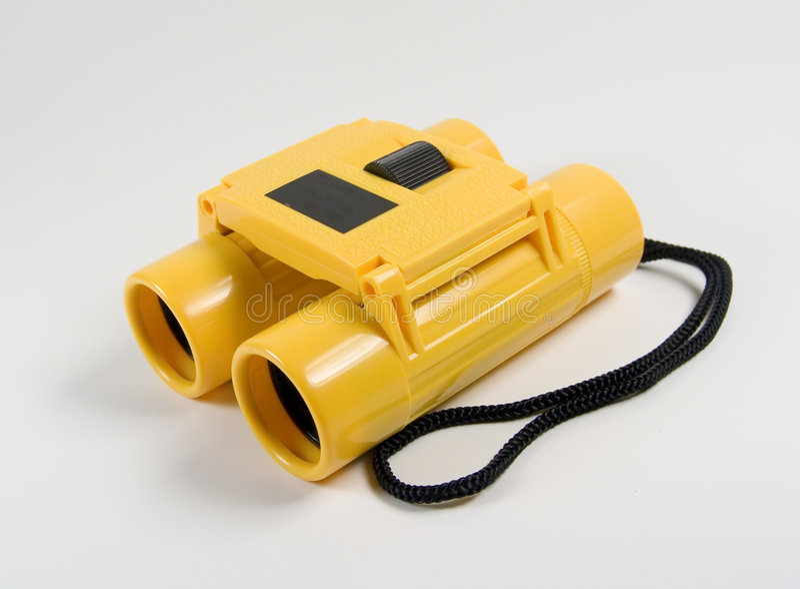 Download Yellow Binoculars stock image. Image of vision, telephoto - 8133