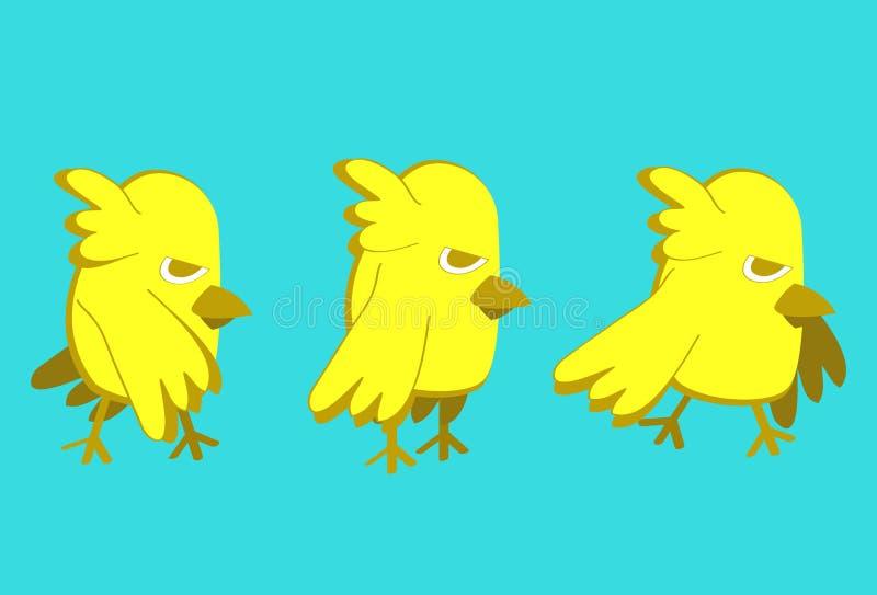 Download Yellow bird stock vector. Image of vector, animation - 28761750