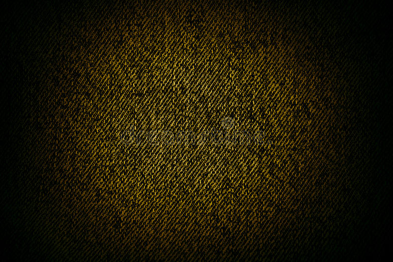 Black Canvas Background : Yellow black canvas texture or background stock photo