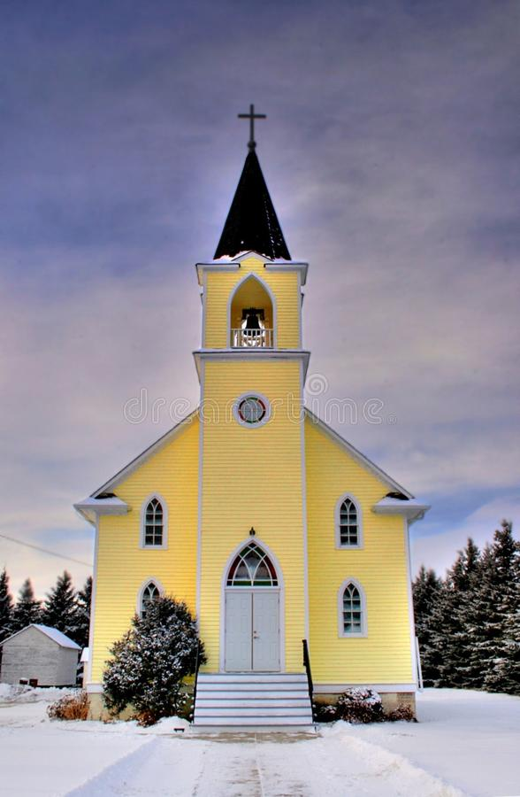 Yellow And Black Church Free Public Domain Cc0 Image