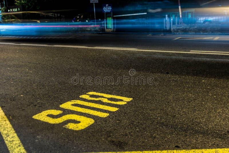 Yellow And Black Concrete Road Free Public Domain Cc0 Image
