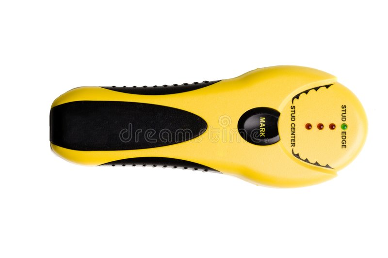 Download Yellow And Black Stud Finder Stock Photo - Image: 4660610