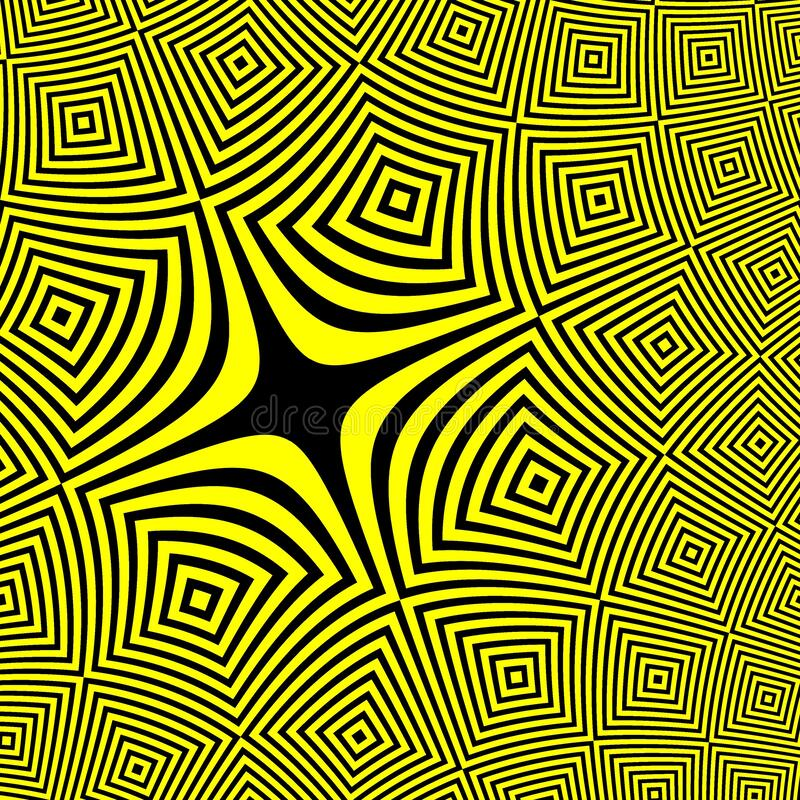 Yellow Black Warning Sign Abstract Background Full Resolution vector illustration
