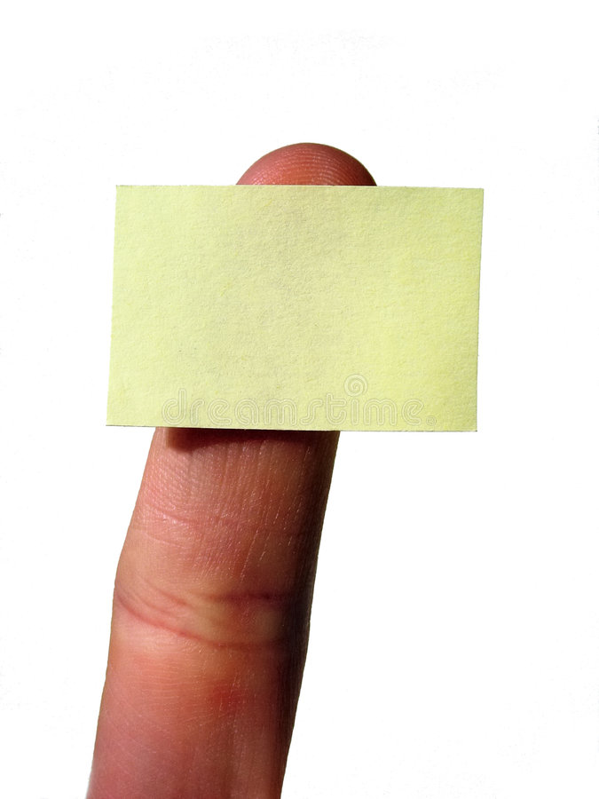 Download Yellow blank notecard stock image. Image of post, notecard - 1703417
