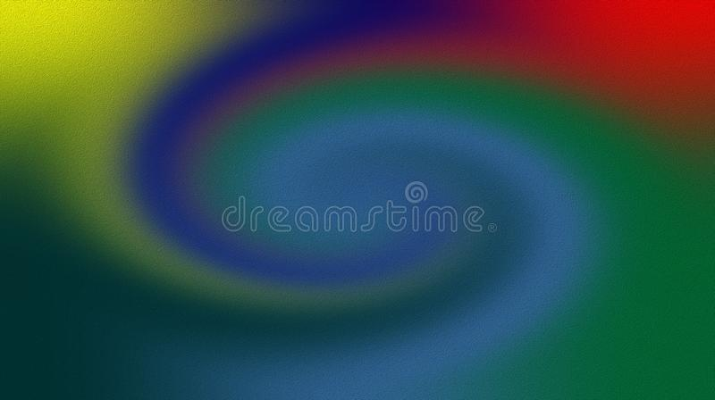 Yellow blue green red purple color blurred shaded background wallpaper. vivid color vector illustration. vector illustration