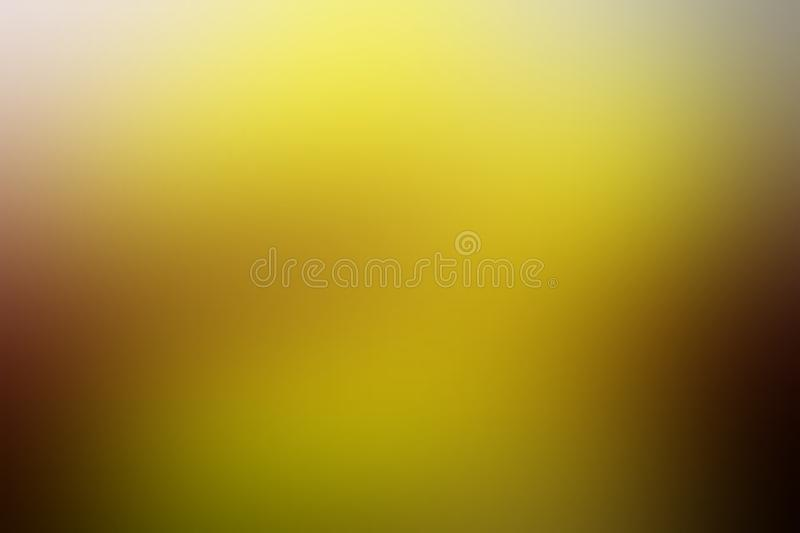 Yellow blur abstract shaded background wallpaper, vector illustration. stock photography