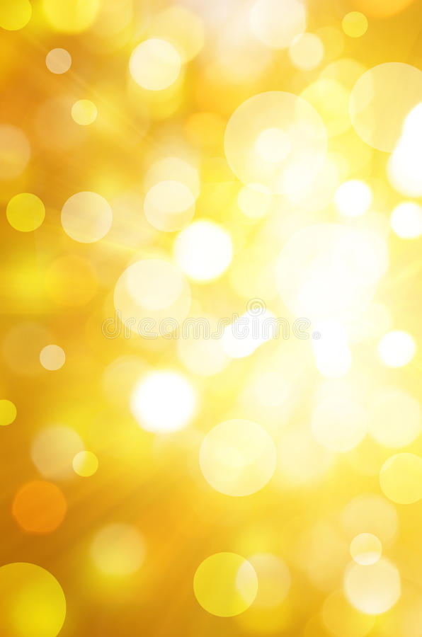 Free Yellow Bokeh Background Stock Images - 21032364