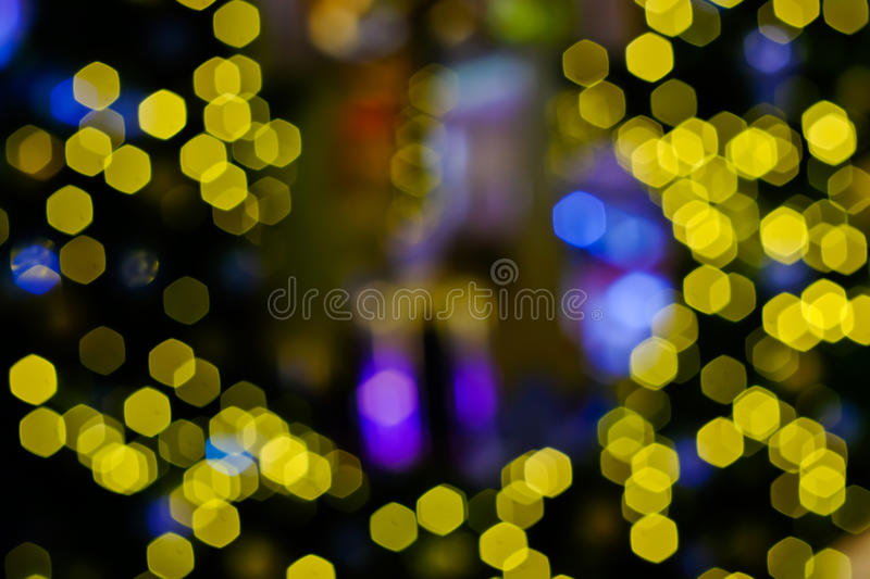 Download Yellow bokhe stock image. Image of bulb, texture, decorating - 83700035
