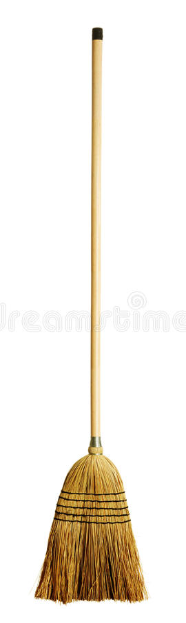 Free Yellow Broom Royalty Free Stock Photos - 9946038