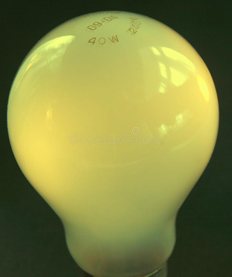 Yellow Bulb Stock Photography