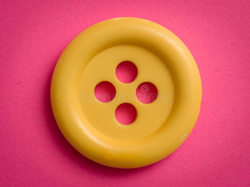 Download Yellow button stock image. Image of pink, paper, objects - 31220217