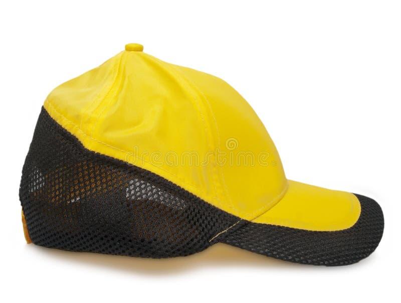 Download Yellow cap stock image. Image of apparel, yellow, black - 28985647