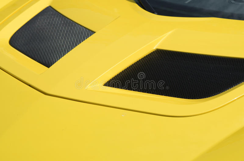 Download Yellow car stock image. Image of france, tourism, green - 19348857