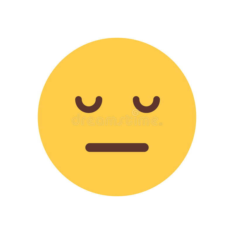 Desparate Emoji – May convey a variety of unhappy emotions, including disappointment, grief, stress, regret, and remorse.