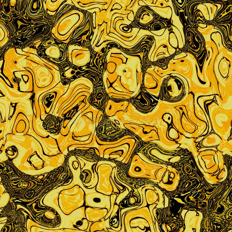 Yellow Chaotic Background map. Frame paintings that can be used directly as modern art royalty free stock photos