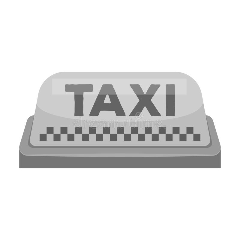 Yellow Checker Taxi With Logo Equipment Taxi Station For