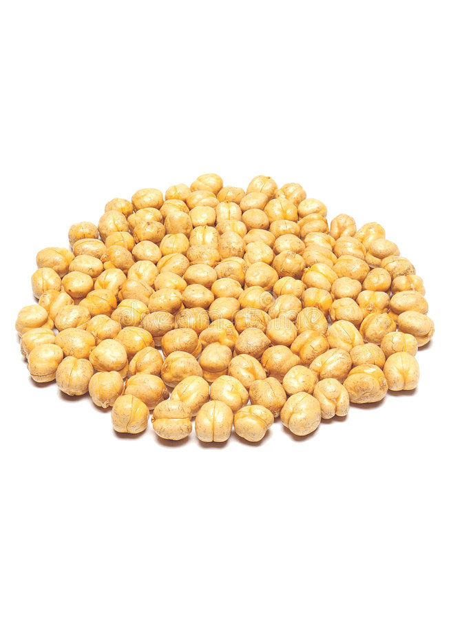 Yellow chickpea stock photography