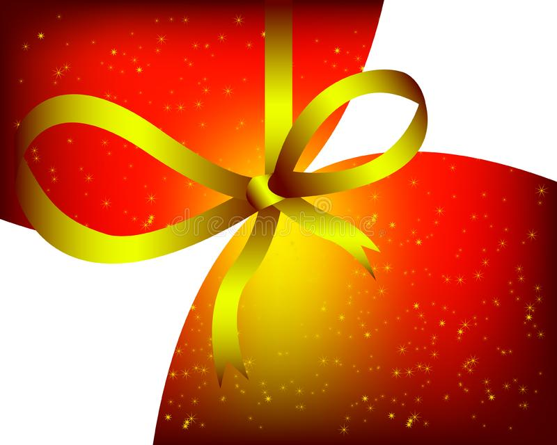 Yellow christmas design royalty free stock images