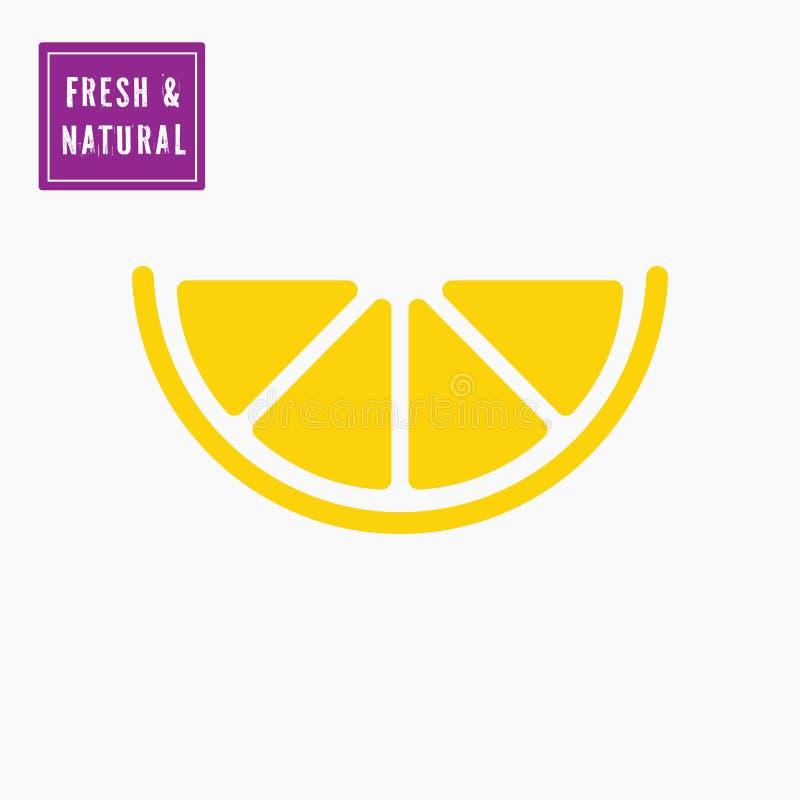 Free Yellow Citrus Lemon Slice Icon. Royalty Free Stock Photography - 148285777