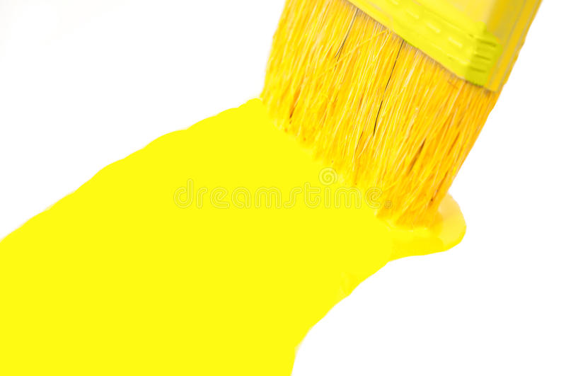 Yellow color stock images