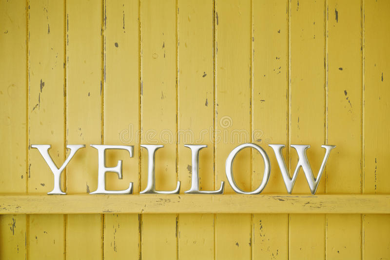 Download Yellow Color Word Background Stock Photo - Image: 39801304