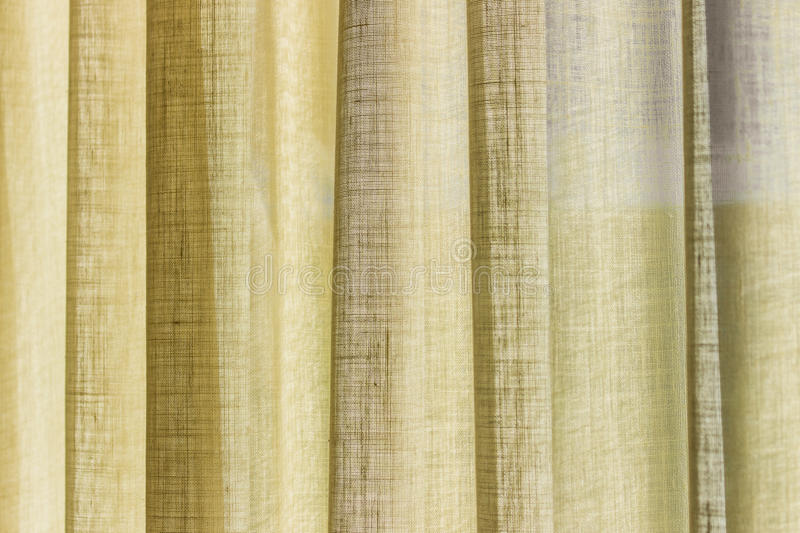 Download The Yellow Curtain Stock Photo - Image: 83703888